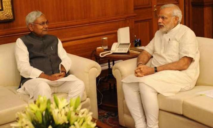 after 34 months nitish kumar meets narendra modi
