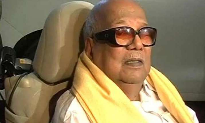 no place for disabled like me says karunanidhi before