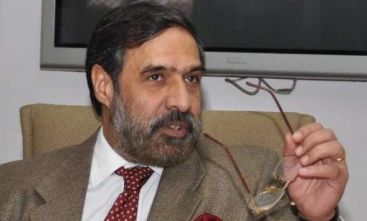 government should not rush through coal bill anand sharma