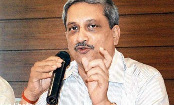 tremendous corruption in the northeast manohar parrikar