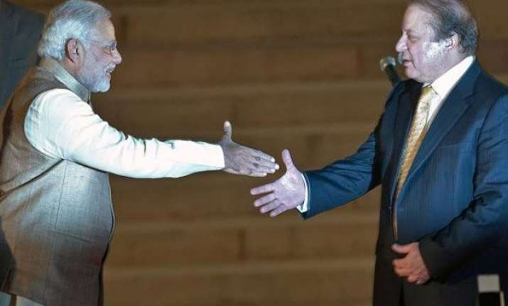 nawaz sharif calls for good ties between india pakistan