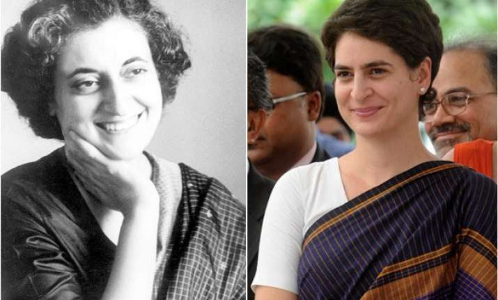 indira wanted priyanka to emerge as her political legatee