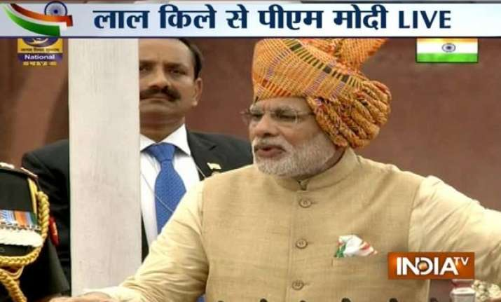 8 issues that pm modi addressed in i day speech know all he