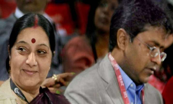 lalit modi offered directorship to swaraj s husband