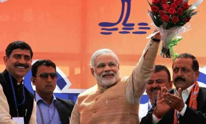 modi a man mesmerised by own persona