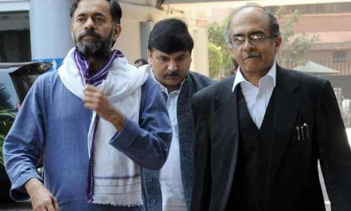 removal of yadav bhushan to be discussed in aap s nc meeting