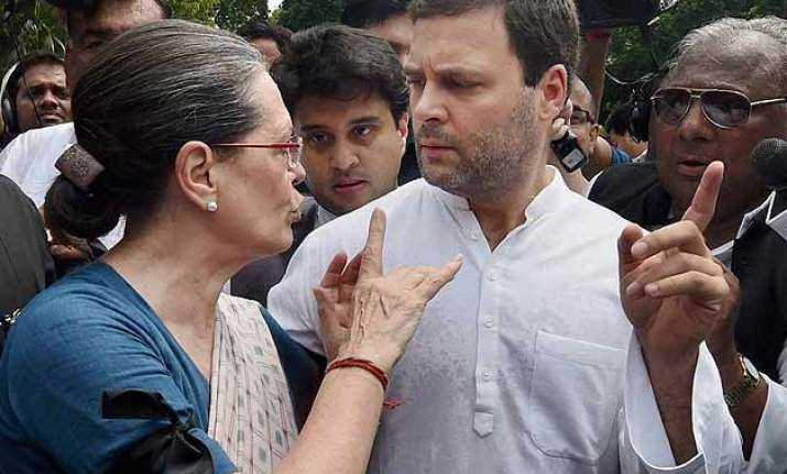 rahul gandhi on land bill government ran off after
