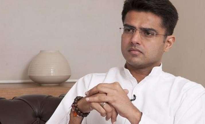 rahul should take charge as congress president soon sachin