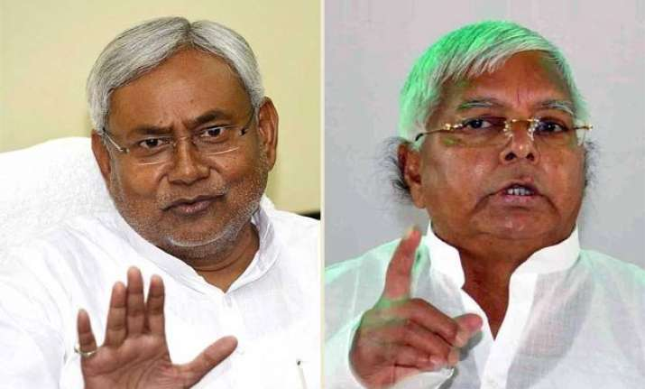 bihar assembly polls bjp to take lalu nitish fight to people