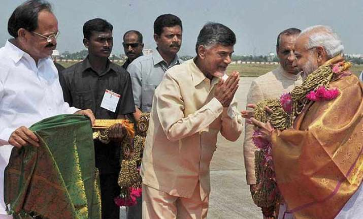 pm modi promises to fulfil commitments made to andhra