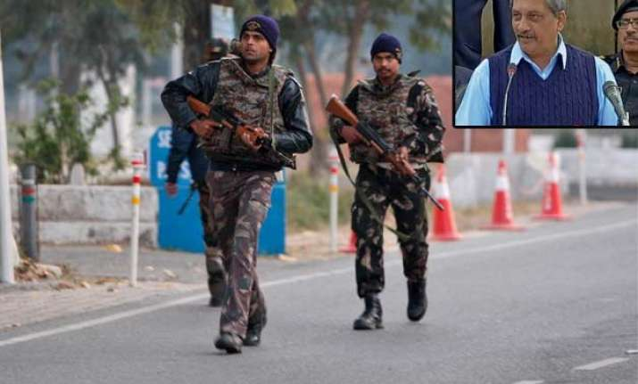 security lapses led to pathankot terror attack parrikar