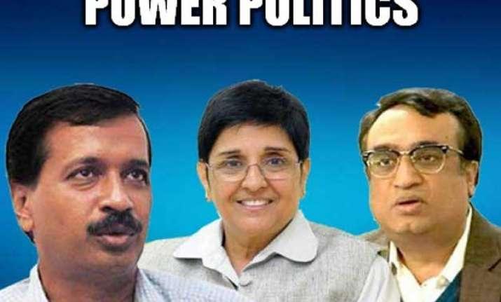power politics in delhi polls political parties unanimous