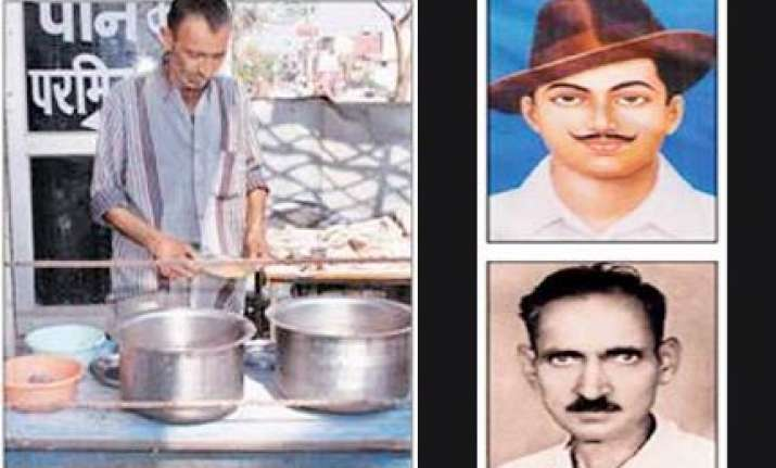shame bhagat singh s comrade s son washing dishes at