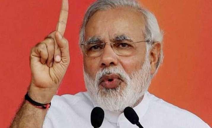 scandal free governance is achche din narendra modi