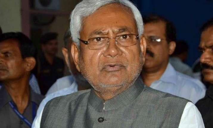 nitish kumar announces pre poll bonanza for upper caste