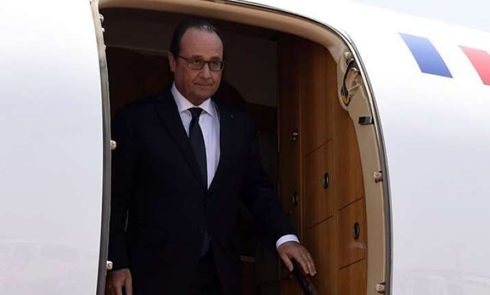 francois hollande to begin 3 day india visit from