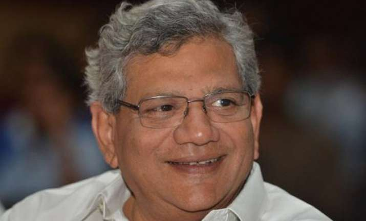 cpi m secretary designate yechury dismisses aap modi