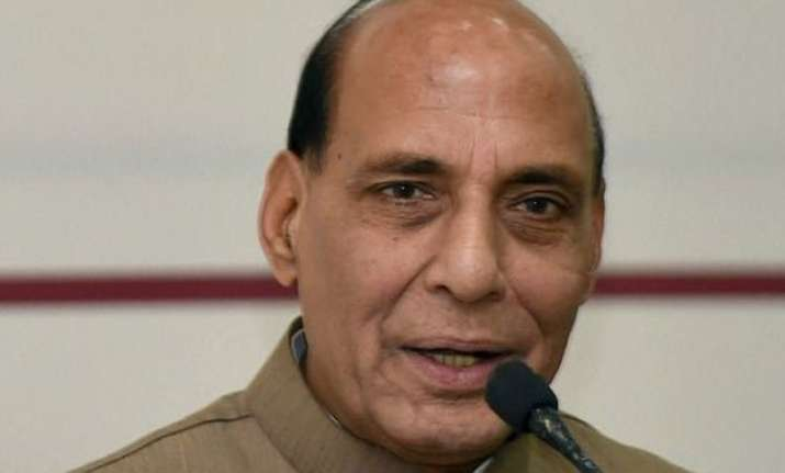 rajnath critical of aap over farmer s suicide