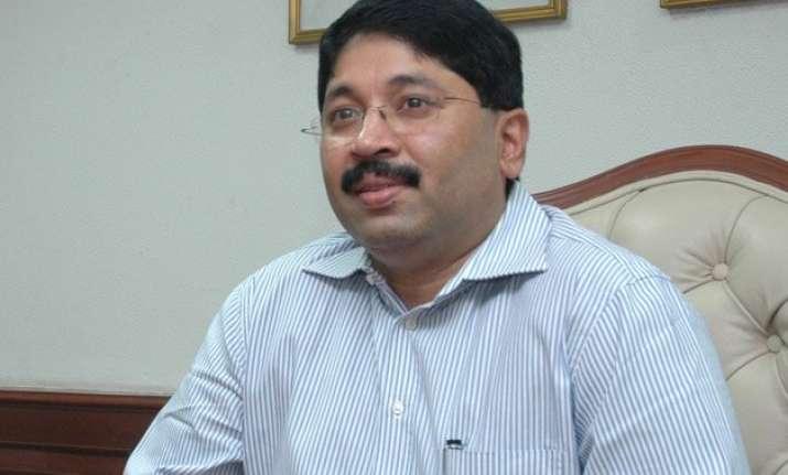 sc stays cancellation of dayanidhi maran s anticipatory bail