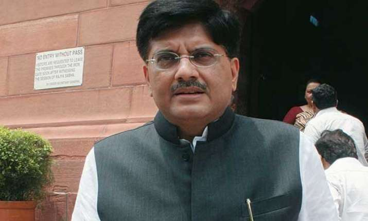 new round of coal block auctions from next month goyal