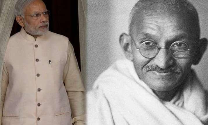 narendra modi mahatma gandhi among most admired globally