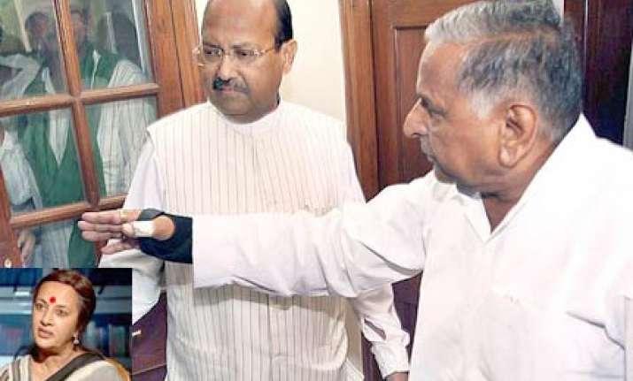cong left bjp amar singh denounce mulayam