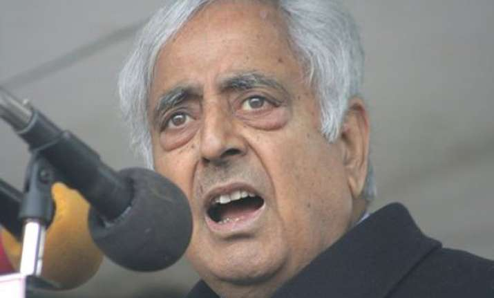 differences over art 370 afspa ironed out mufti