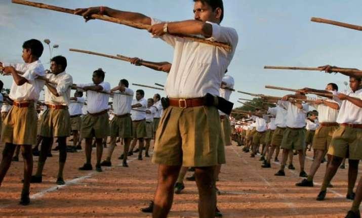 rss membership gets a boost from bihar polls