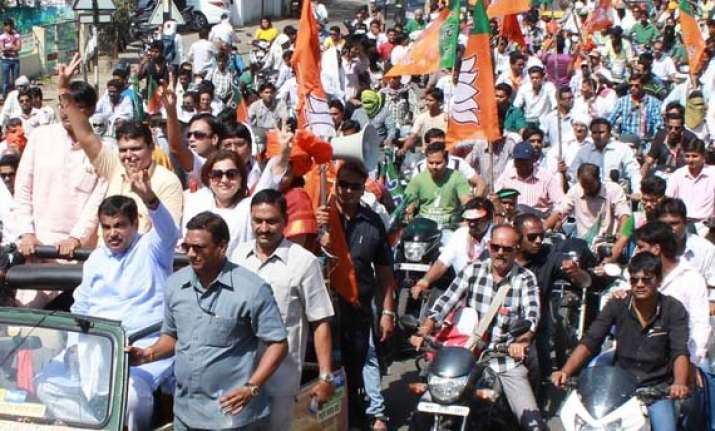 campaigning for polls in haryana maharashtra ends