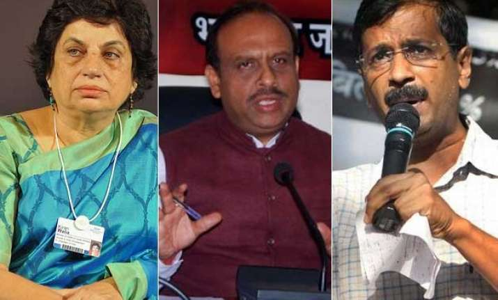 delhi polls all eyes set on high profile new delhi assembly