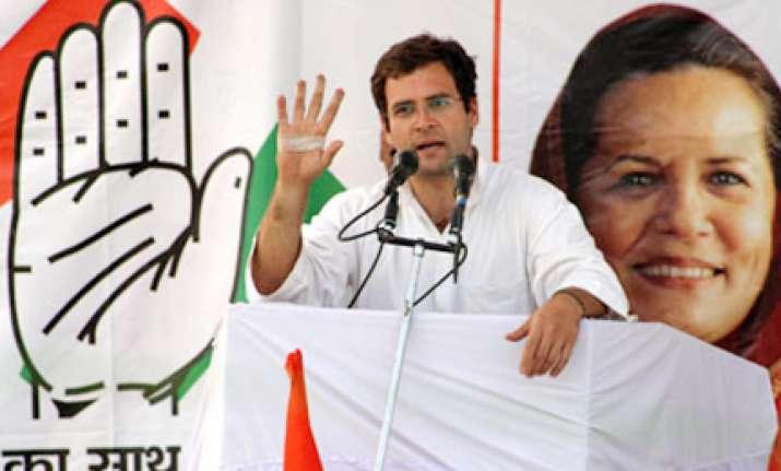 rahul slams bjp over india shining slogan