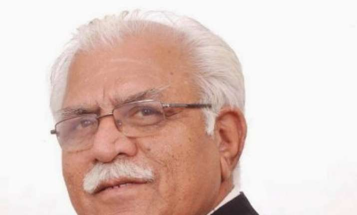 bjp s haryana cm designate manohar lal khattar was