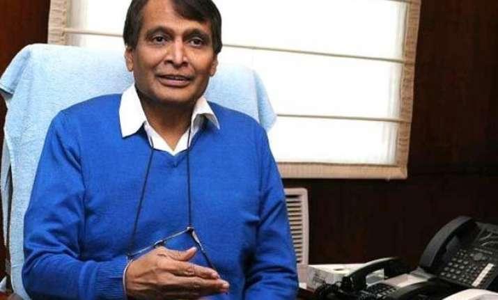 railways to be linked to e pantry suresh prabhu