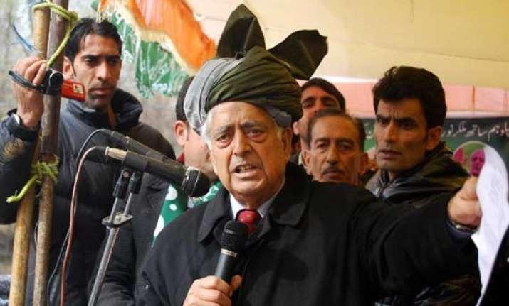 mufti asks his mlas to seek public feedbak on pdp bjp