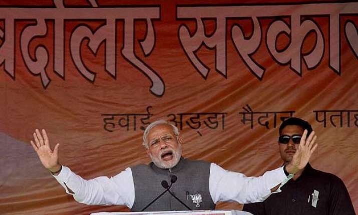 in 84 seconds pm modi reminds lalu nitish of their 33 scams