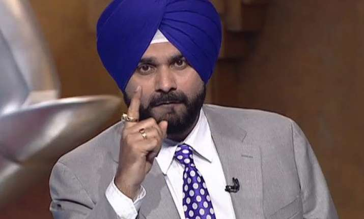 navjot singh sidhu s security restored