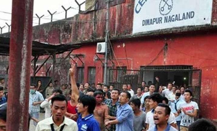 dimapur lynching 3 suspended judicial probe ordered