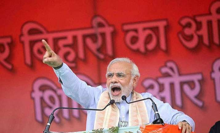 modi nitish battle it out with name calling