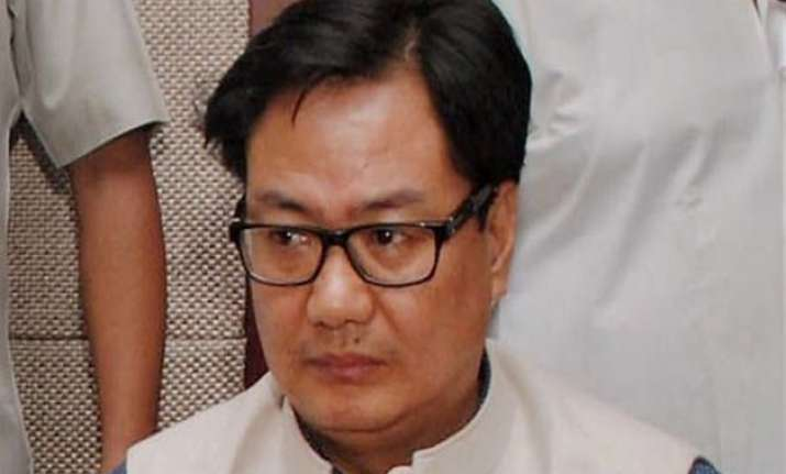 bjp distances itself from rijiju s beef remarks says issue