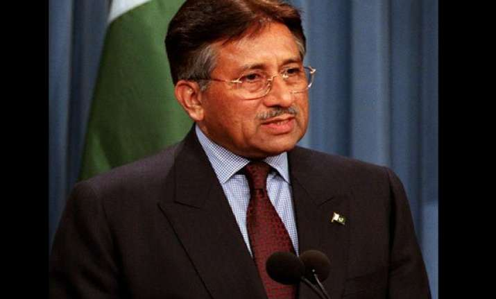 bjp hits out at musharraf for anti india rant