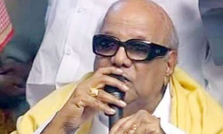 only party can decide about my successor says karunanidhi