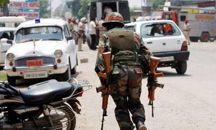 rajya sabha condemns punjab terror attack