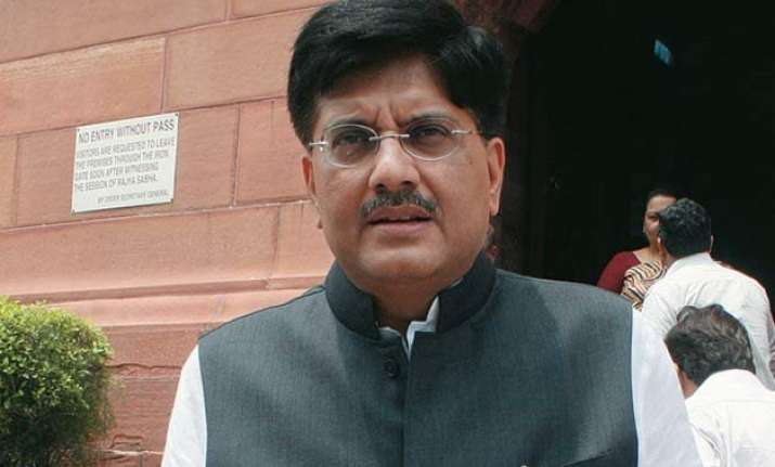 government not a bailout bank says power minister piyush