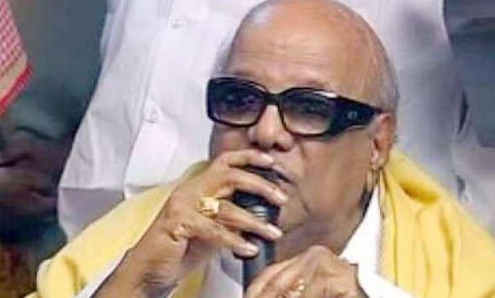 you fix a date i will retire says karunanidhi