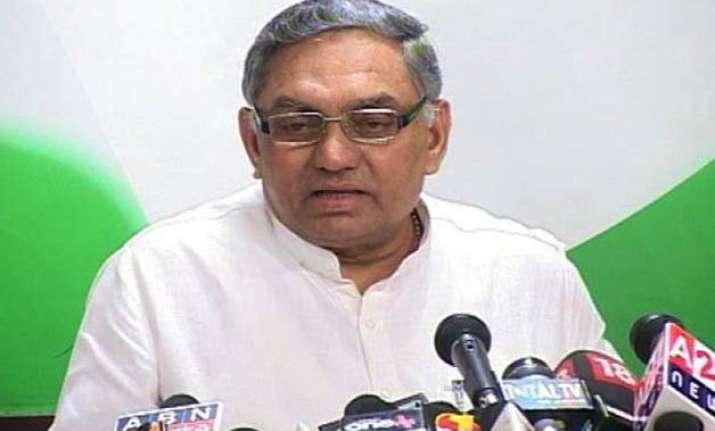 congress leader janardhan dwivedi may face disciplinary