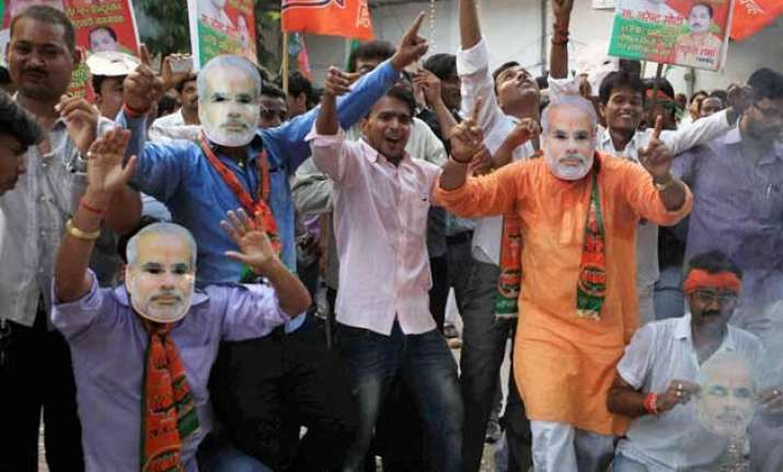 bjp mps laud govt s 1 yr hopeful it will deliver on promises