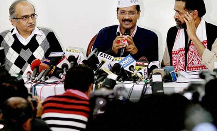 kejriwal decides to throw out bhushan yadav from party to