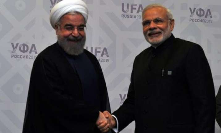 pm modi meets iranian president
