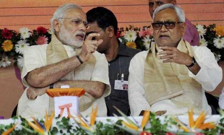 nitish kumar takes on pm modi accuses him of not honouring