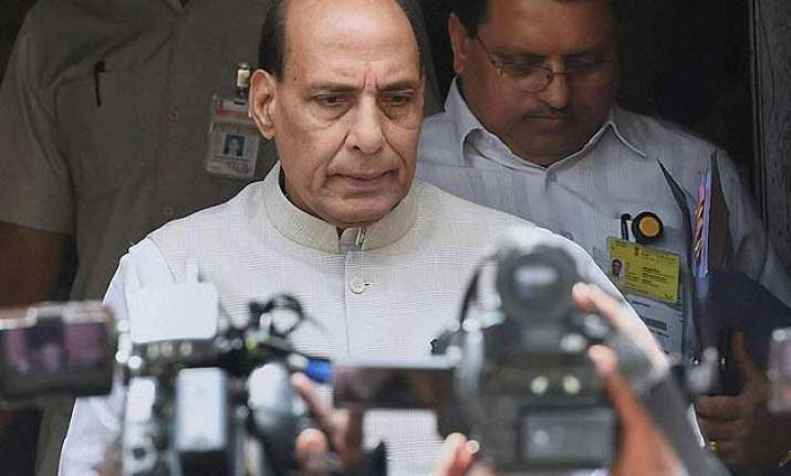 gurdaspur attackers infiltrated from pakistan rajnath singh